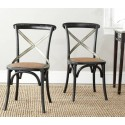Silla De Madera Eliana X-Back Side Chair ( Set of 2 )
