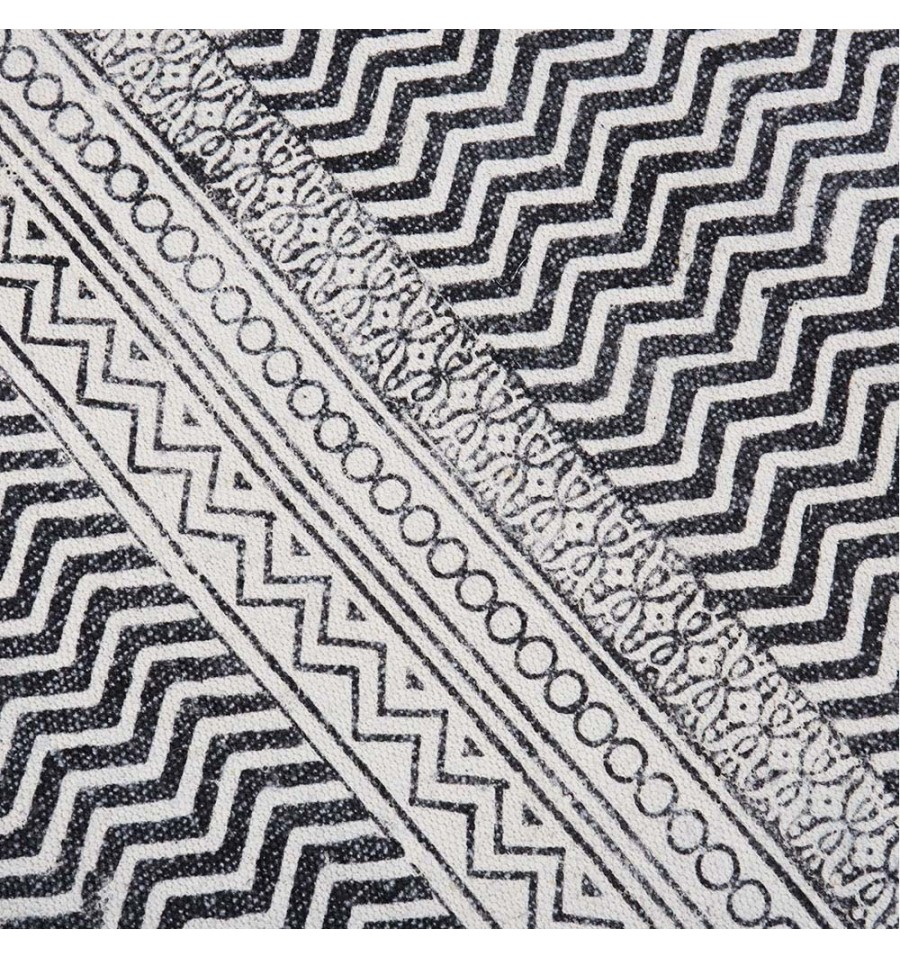 Oferta alfombra tnica de algod n caluse 160x230 env o for Alfombras etnicas