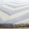 Alfombra Rectangular Stella Textured Area Rug 152 X 243 cm