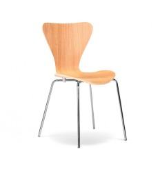 Sillas de madera baratas sillas r sticas n rdicas for Sillas rojas baratas