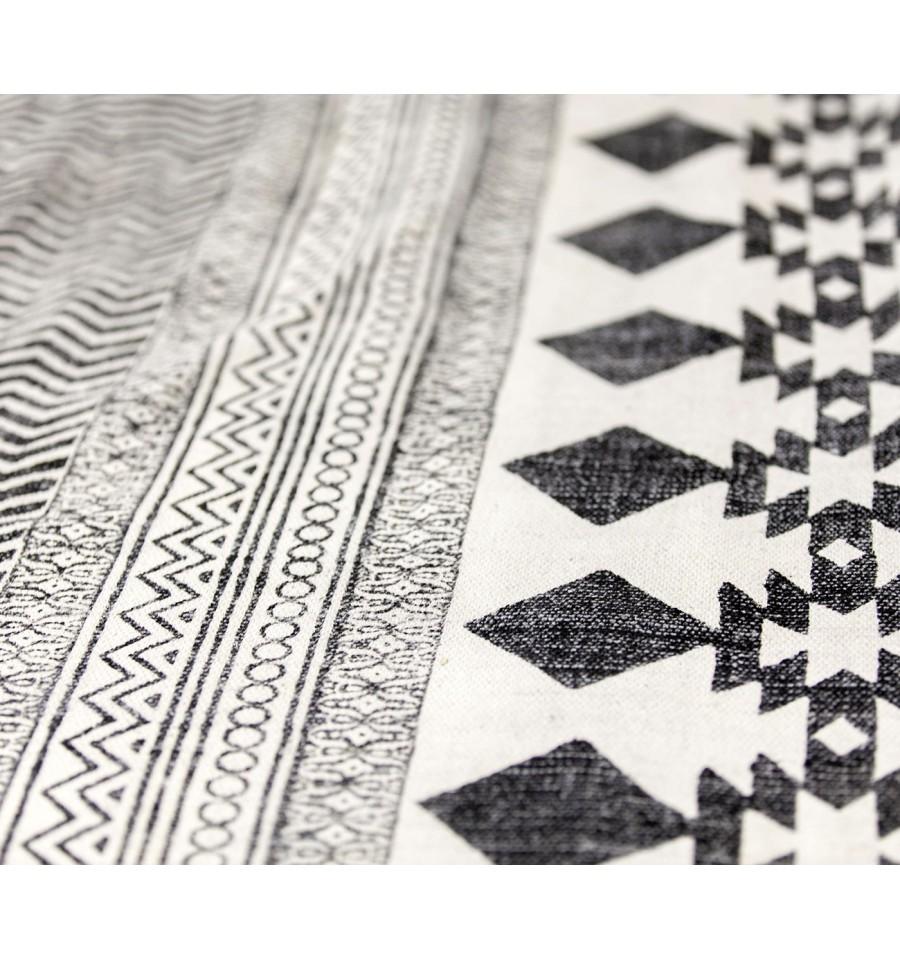 Oferta alfombra tnica de algod n caluse 160x230 env o for Alfombras de algodon indias