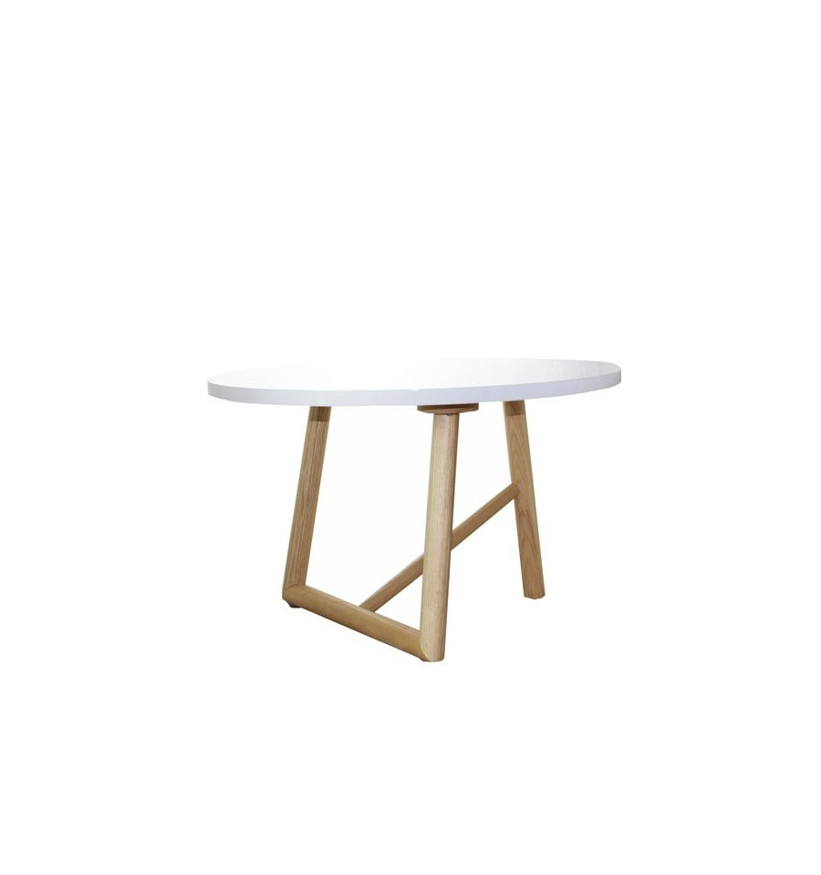 Mesa patas de madera de haya 60cm iconscorner - Patas de mesa de madera ...