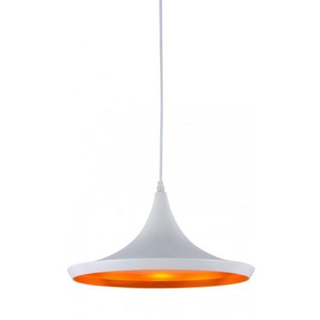 Lámpara de suspensión Sienna, blanca