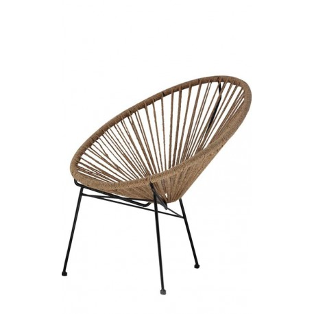 ACAPULCO CHAIR NATURAL CORD