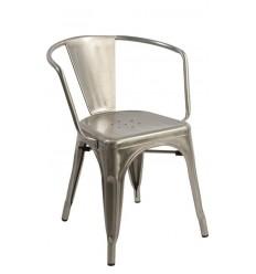 Bistro Armchair inspired by Xavier Pauchard Metalico