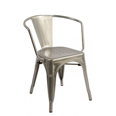 Bistro Armchair inspired by Xavier Pauchard Metalico