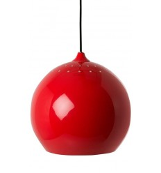 BALL PENDANT LAMP RED