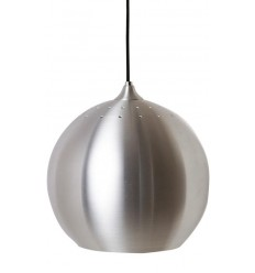 BALL PENDANT LAMP SILVER