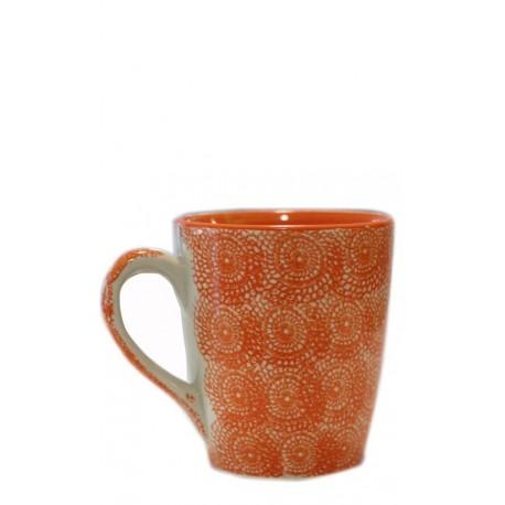 Vajilla de cerámica, taza naranja 10 x 11,5 cm Cerámica 9,80 €