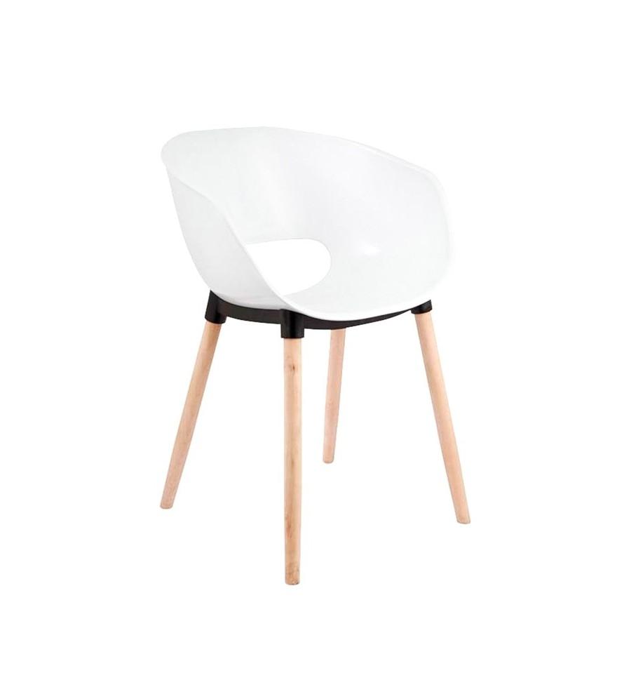 Sillas de diseo baratas awesome silla de comedor de diseo for Sillas comedor blancas baratas