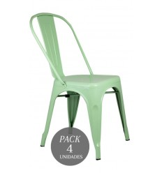 SILLA VINTAGE PEPPERMINT PACK 4