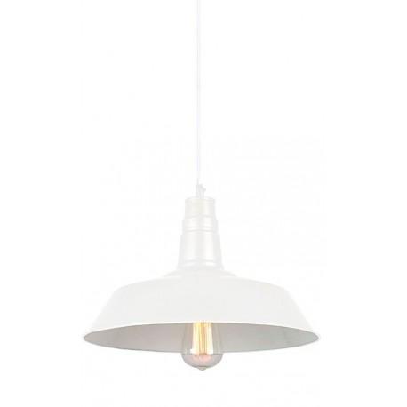 lampara moderna barata de techo color blanco G modelo Berlín