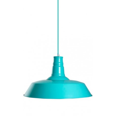 lampara moderna barata de diseño color turquesa modelo Berlín