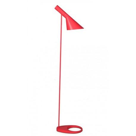 Lámpara Arne Jacobsen de pie roja
