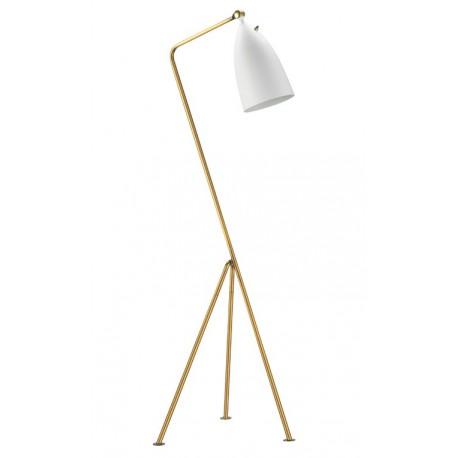 Lámpara de pie Grasshopper Blanca modelo Shanghai