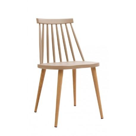 Silla Fanett de Diseño Beige Sillas modernas de diseño