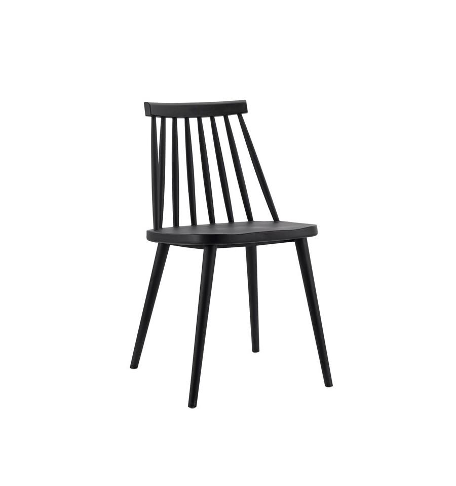 Pack 2 sillas de dise o windsor n rdicas negras fanett env o gratis - Sillas negras ...