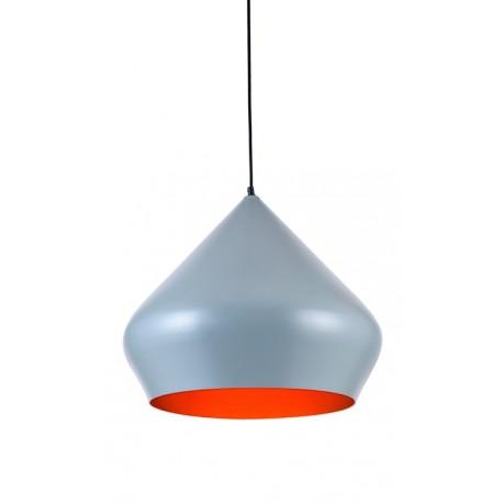 Lámpara de techo suspensión gris estilo Beat Shade Tom Dixon