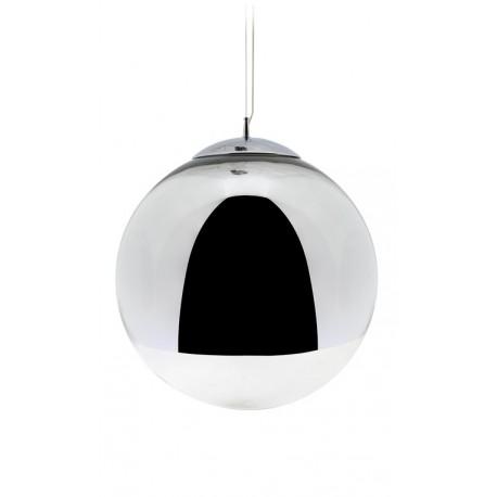 LAMPARA SUSPENSION BALL MIRROR TOM DIXON CROMO CRISTAL