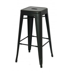 Bistro Bar Stool inspired by Xavier Pauchard negro