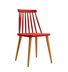 Sillas modernas baratas sillas de comedor env o gratis for Sillas rojas baratas