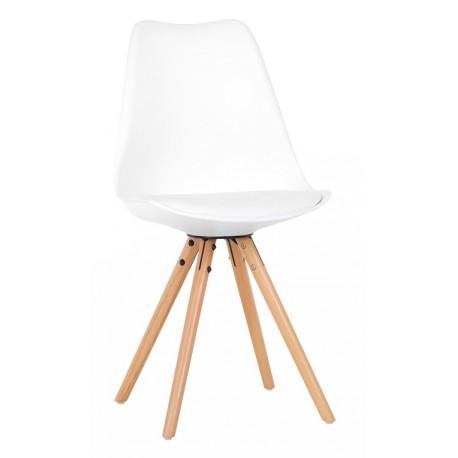 silla de dise o n rdica blanca rebajada y con env o