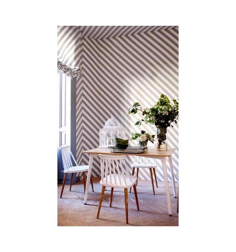Pack 2 sillas de dise o windsor n rdicas blancas fanett - Silla diseno blanca ...
