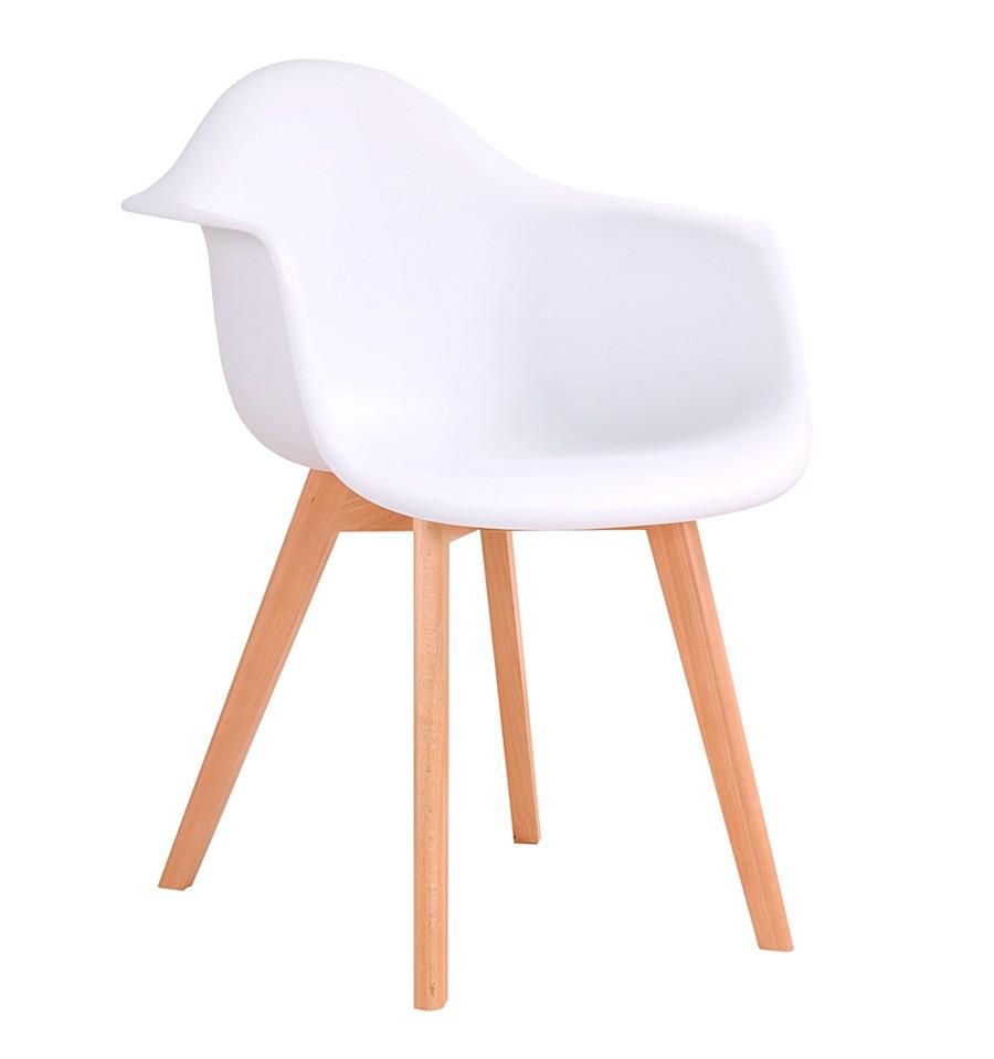 nuevo silla de dise o blanca de estilo n rdico env o