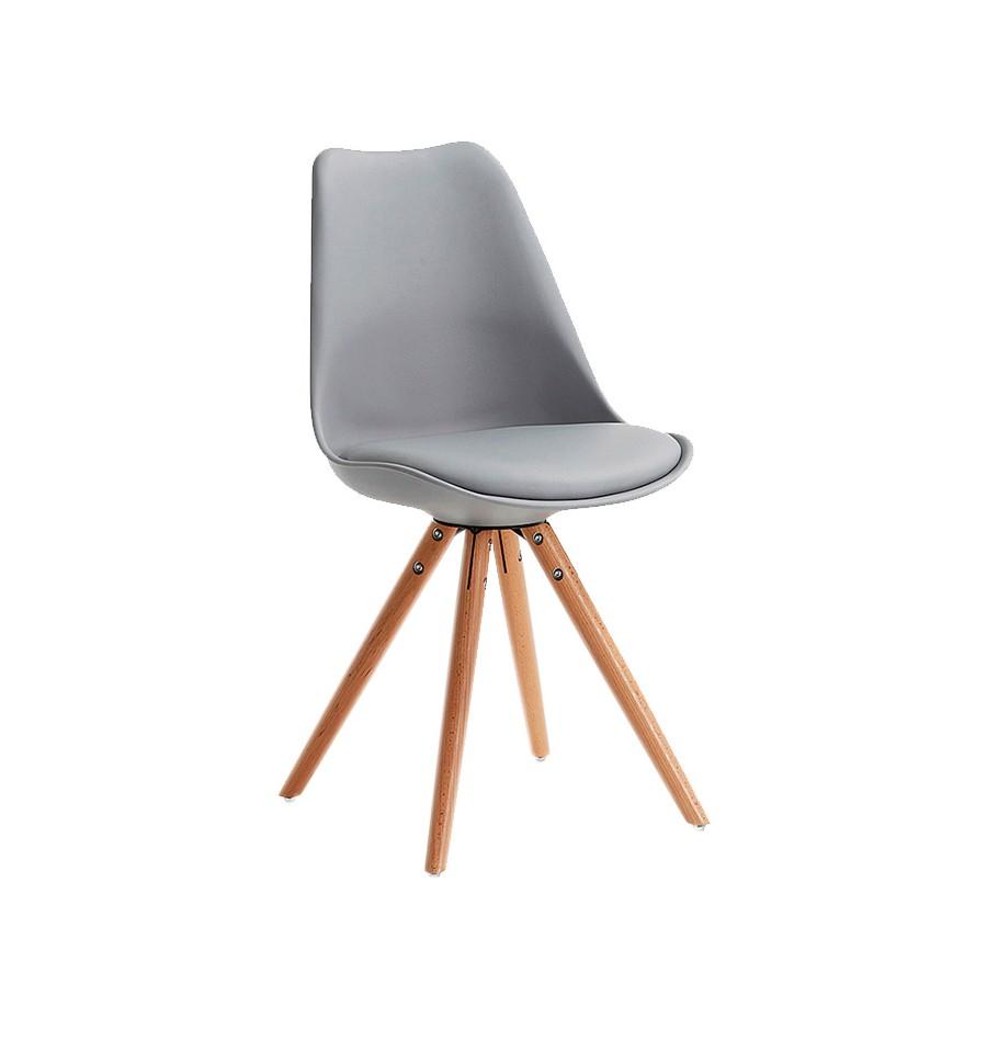 Nueva silla de dise o kandem oslo gris oscuro env o gratuito for Sillas en gris