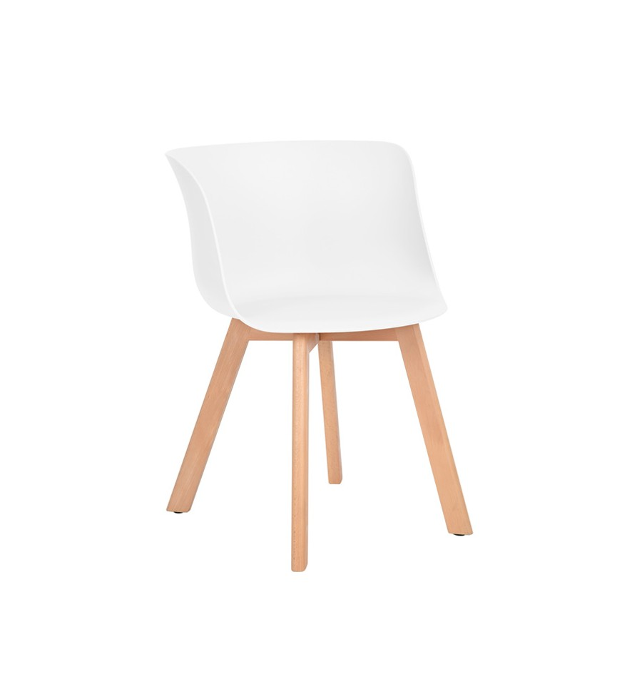 silla de dise o n rdico blanca upsala novedad env o gratis