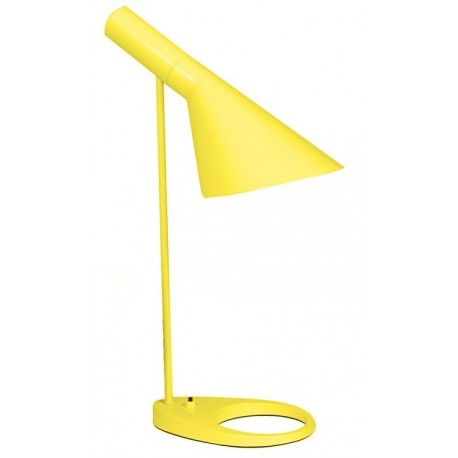 Lámpara de Mesa Arne Jacobsen AJ Amarilla Dúo