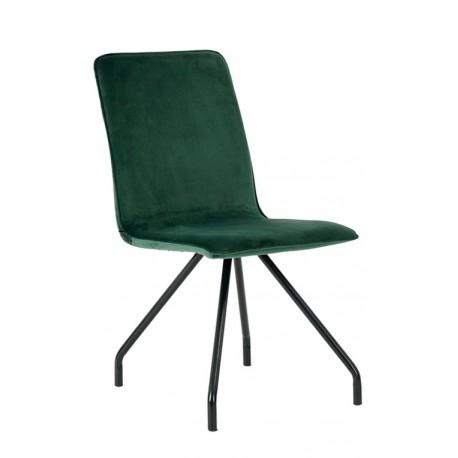 Silla de Terciopelo Verde Cleo Sillas modernas de diseño