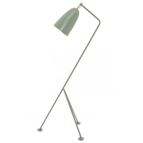Lámpara de Pie Shanghai Gris Lona LÁMPARAS DE PIE 149,99 €