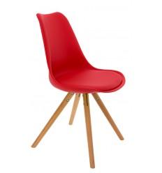 Sillas de dise o baratas r plicas sillas dise o for Sillas rojas baratas