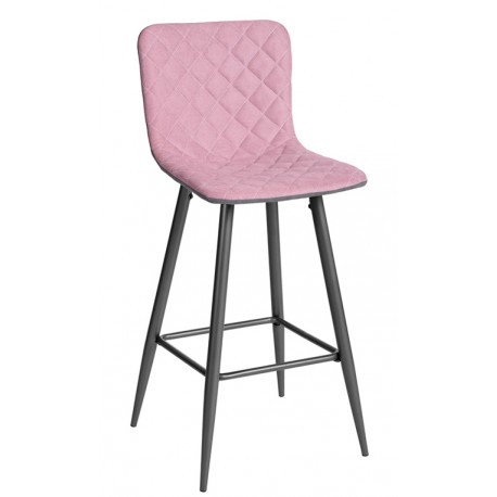 Taburete Tapizado de Diseño Rosa Modelo Amabile Inicio 34,99 €