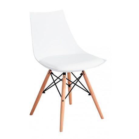 Silla Nórdica Blanca Kandem París Sillas modernas de diseño 34,99 €