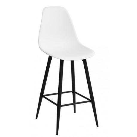 Taburete Blanco de Diseño Nórdico Kandem TABURETES 39,99 €