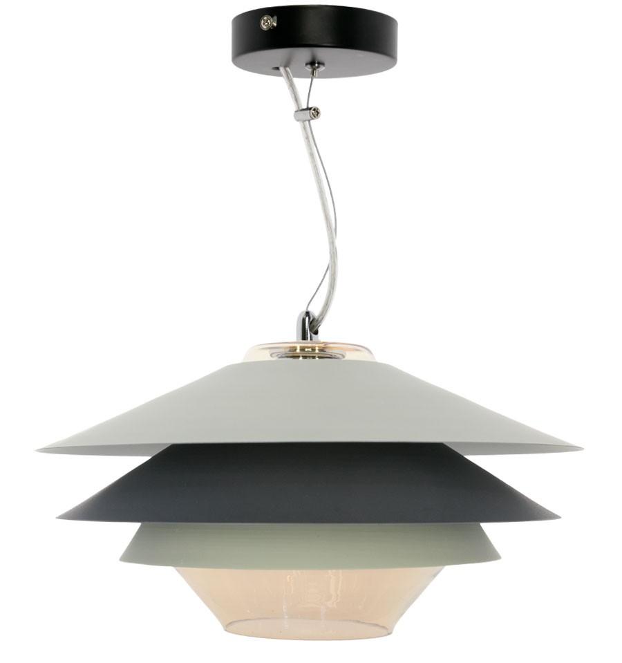 L mpara de techo moderna gris pier decora tu casa con - Lampara de techo modernas ...