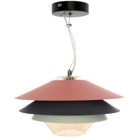 L mpara de techo moderna tricolor pier env o gratuito - Lampara de techo roja ...