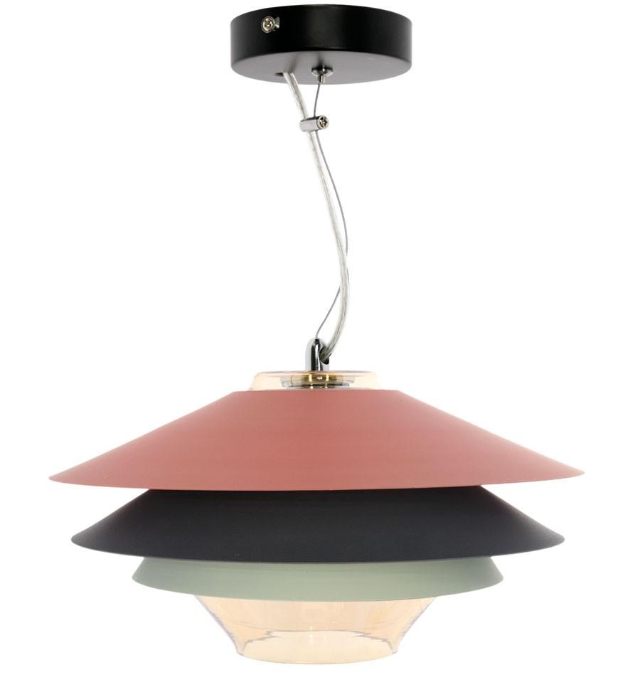 L mpara de techo moderna tricolor pier env o gratuito - Lamparas de techo para salon modernas ...