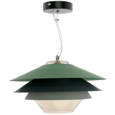 Lámpara de Techo Moderna Pier Verde LÁMPARAS SALÓN 79,99 €