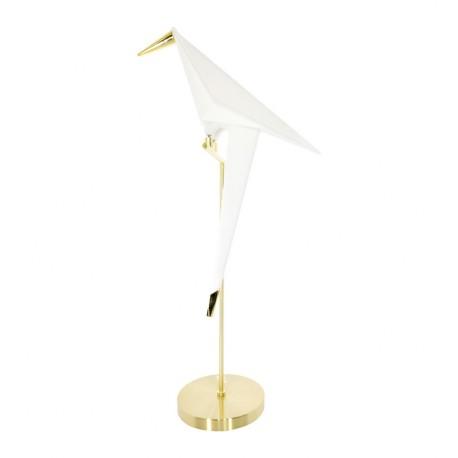 Lámpara de Mesa Bird Blanco y Dorado LÁMPARAS DE MESA 149,99 €