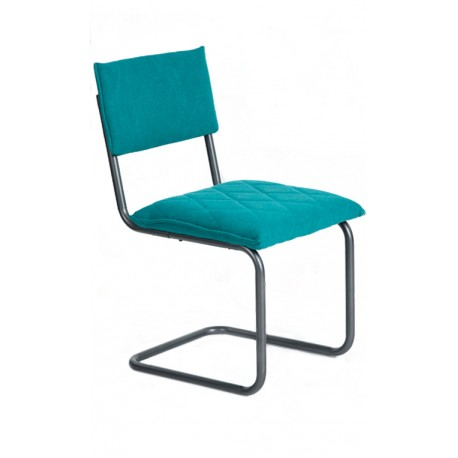 Silla de Diseño Verde tipo Bauhaus Francesca