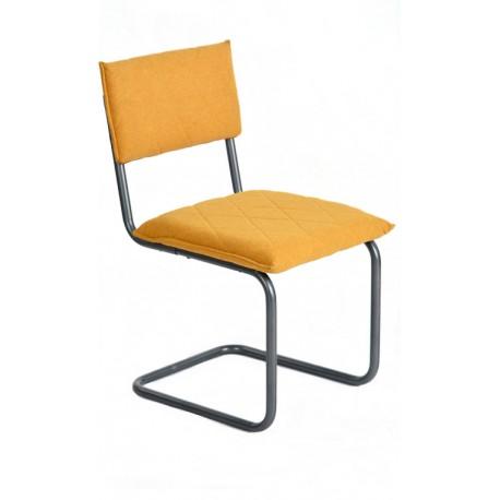 Silla de Diseño Amarilla tipo Bauhaus Francesca
