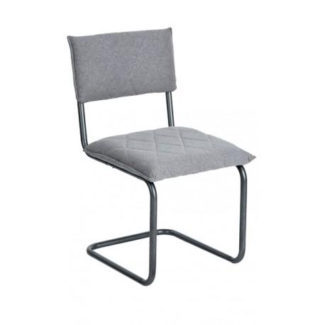 Silla de Diseño Gris tipo Bauhaus Francesca