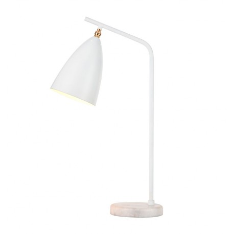 Lámpara de Mesa de Diseño Mirelle Blanca LÁMPARAS DE MESA 49,99 €