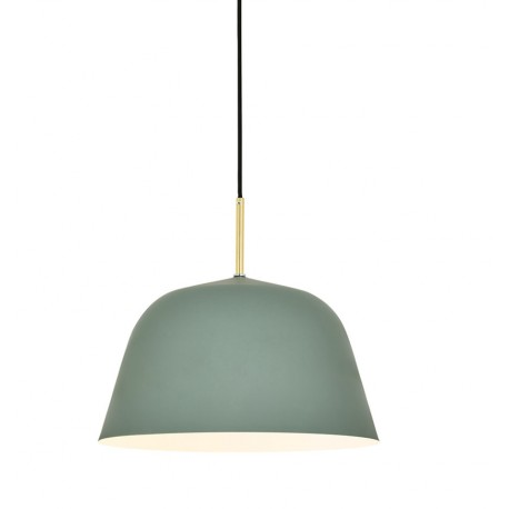 Lámpara de Techo Moderna Bari Gris Lona LAMPARAS