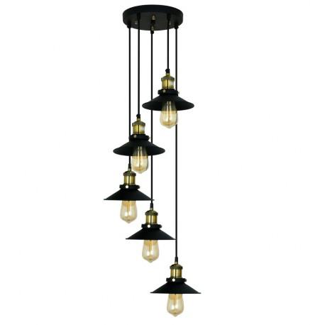 Lámpara de Techo de Diseño Alba Negro LAMPARAS 99,99 €