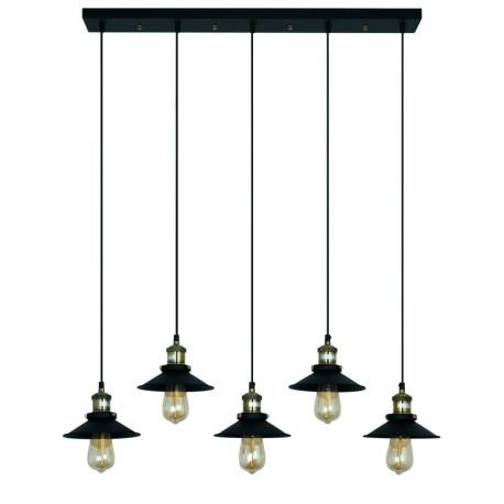 Lámpara de Techo de Diseño Edda Negro LAMPARAS 99,99 €