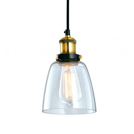 Lámpara de Techo de Cristal y Latón Kopp LAMPARAS 29,99 €